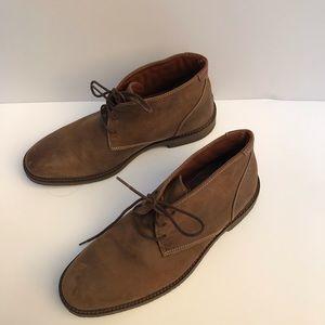 Johnston & Murphy Mens Copeland Chukka Brown Boot